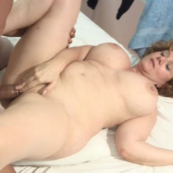 Mercés accepts the MONSTERCOCK challenge. Pepe insert his STICK inside the busty MATURE GODDESS!
